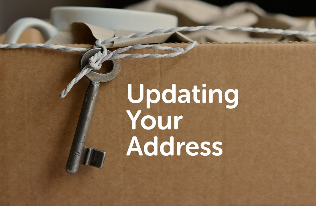 Changing your Address in Liverpool